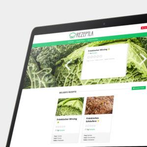 rezeptla 300x300 - Website erstellen lassen