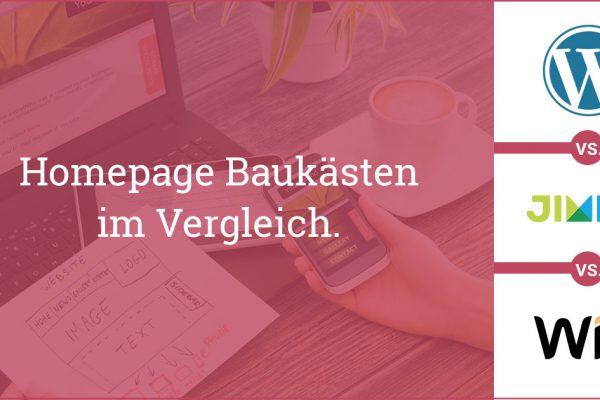 Homepage Baukasten