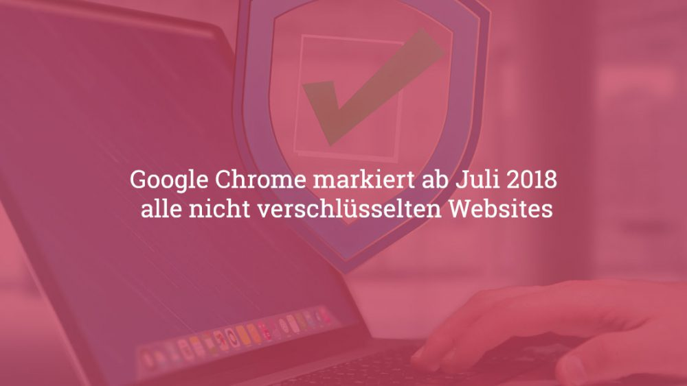 Chrome SSL Warnung