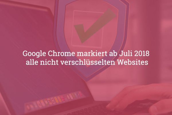 Chrome SSL Warnung
