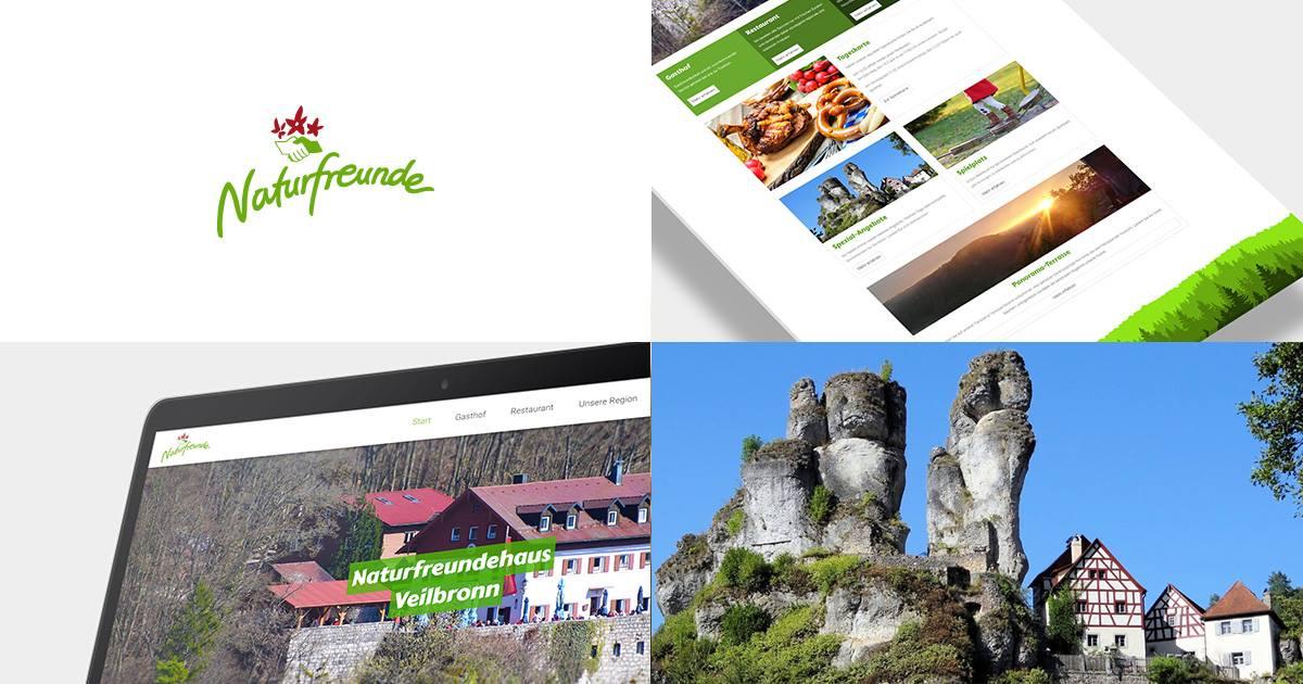 naturfreundehaus veilbronn - Website erstellen lassen