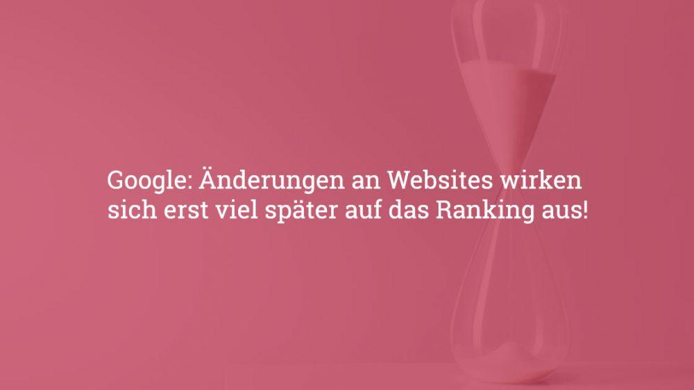 veraenderung website