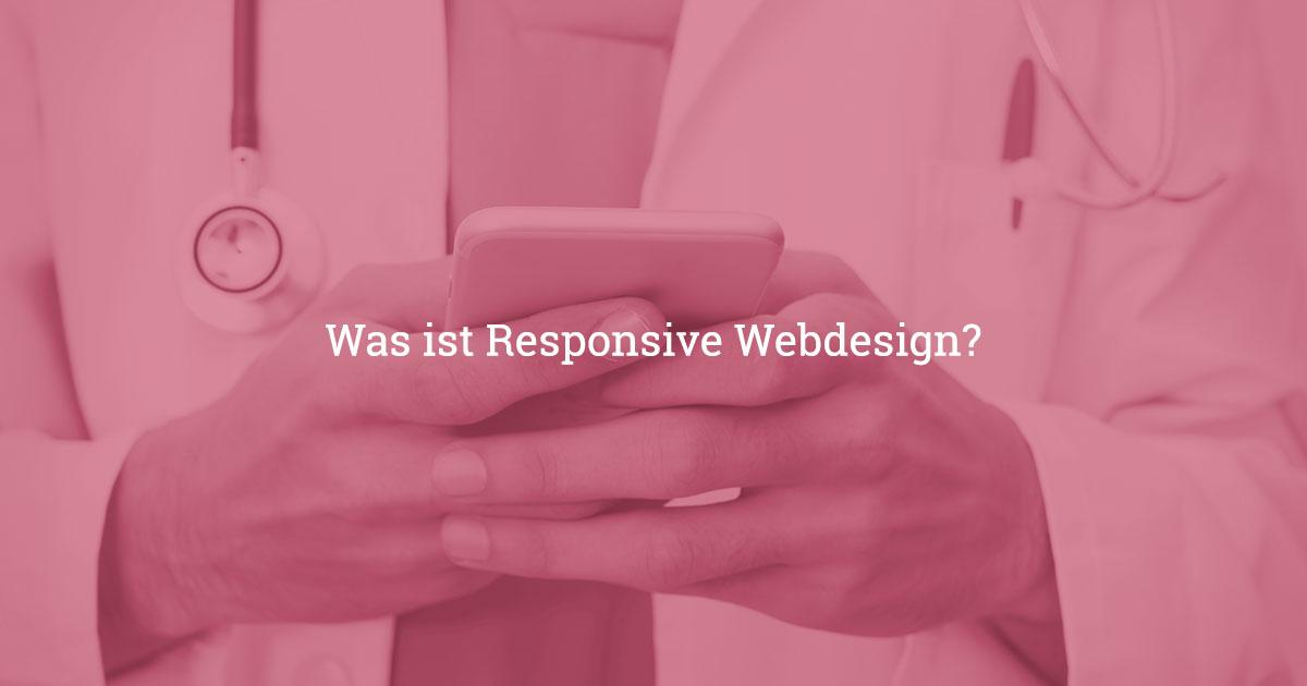 responsive webdesign fuer aerzte - Webdesign für Ärzte