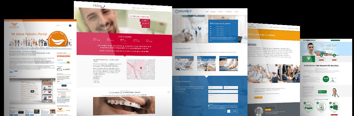 webdesgin fuer aerzte - Webdesign für Ärzte
