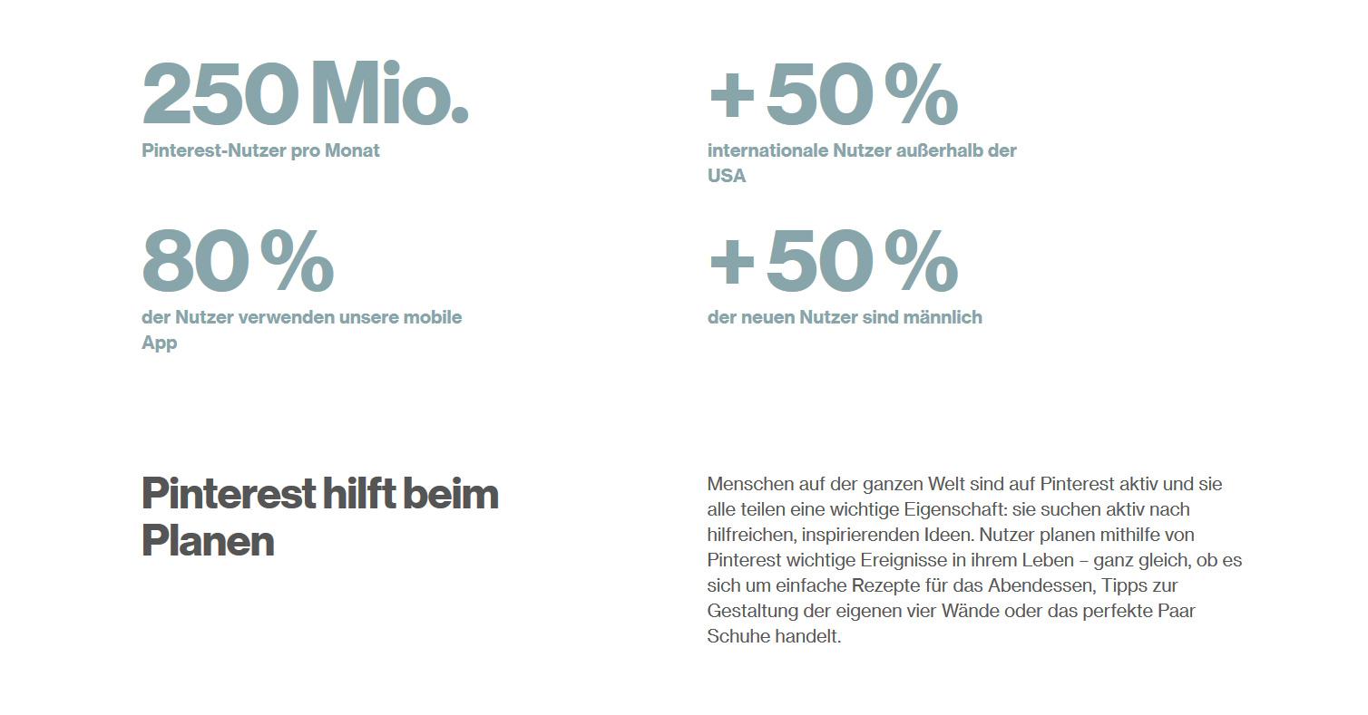 pinterst statistik - Pinterest Anleitung: Was ist Pinterest?