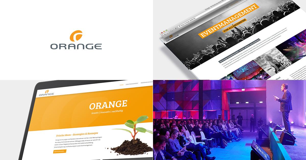 orange gmbh - Website erstellen lassen