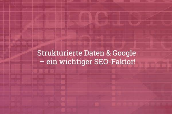 strukturierte daten